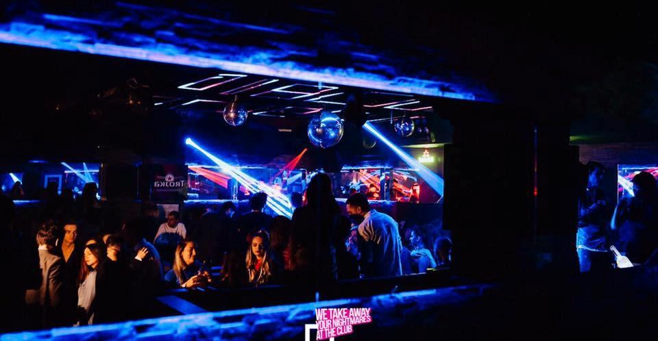 Saturday and Sunday at club Square - Belgrade at night