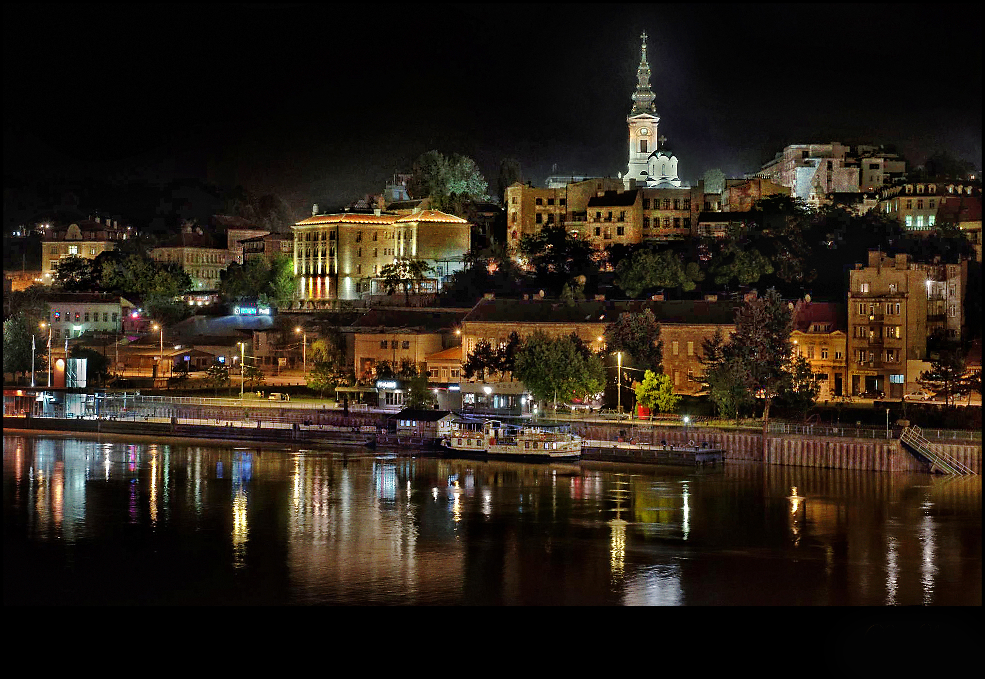 Splendid time in Belgrade - Belgrade at night