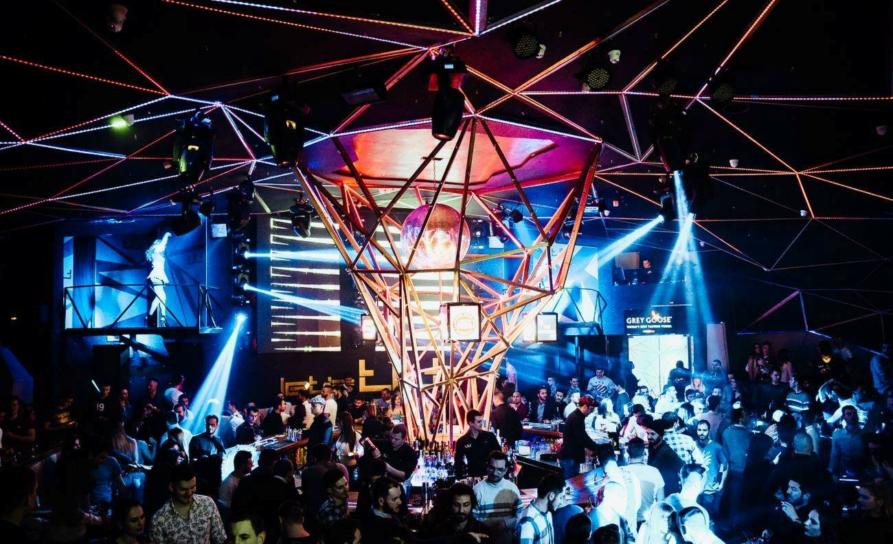 It is all about electro! Tilt Club - Belgrade at night