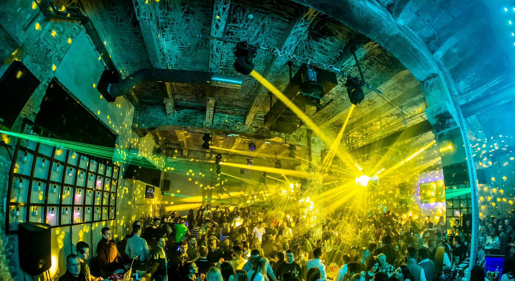 Where to party every night of a week? Vol. I - Belgrade at night