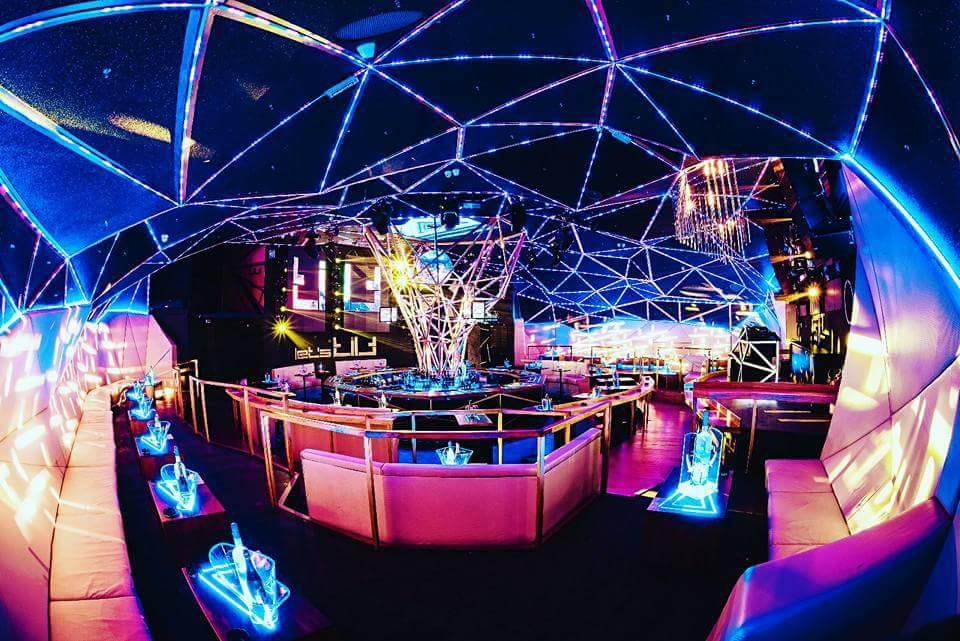 Dance & Night club – The Tilt - Belgrade at night