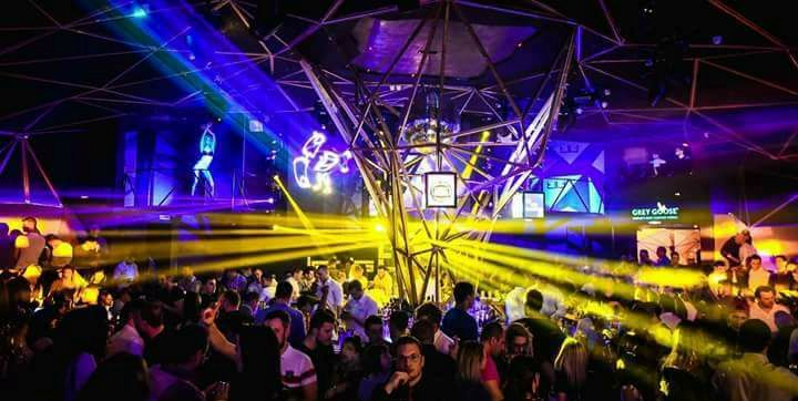 Dance & Night club – The Tilt - Belgrade at night