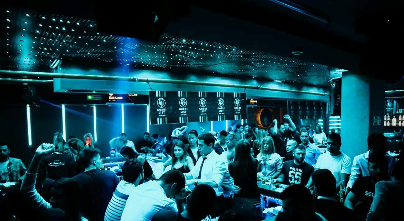 Feel the rhythm at club Mr. Stefan Braun - Belgrade at night