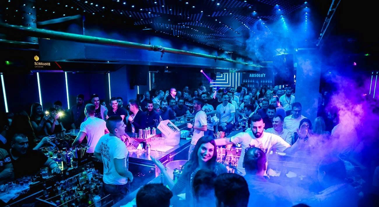 Monday, starter for partying in Belgrade - Belgrade at night