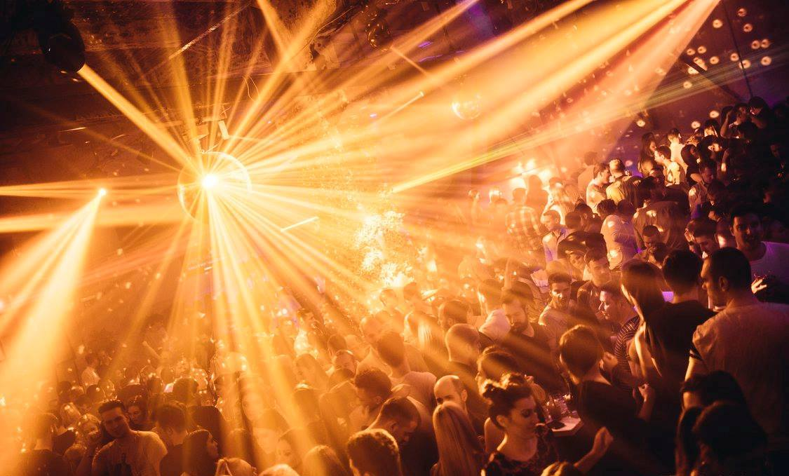 Perfect weekend to experience the Bank club - Belgrade at night