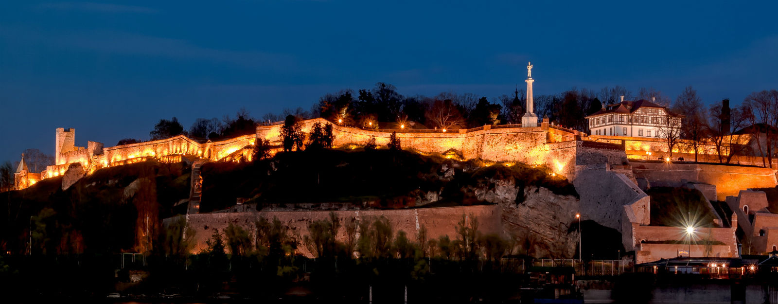 While you are in Belgrade - Belgrade at night