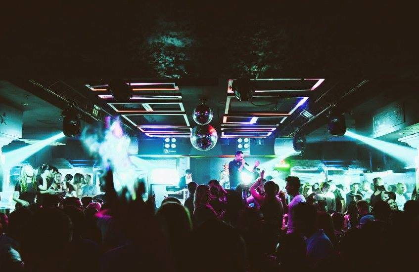Blood and mode party on Saturday is going to rock! - Belgrade at night