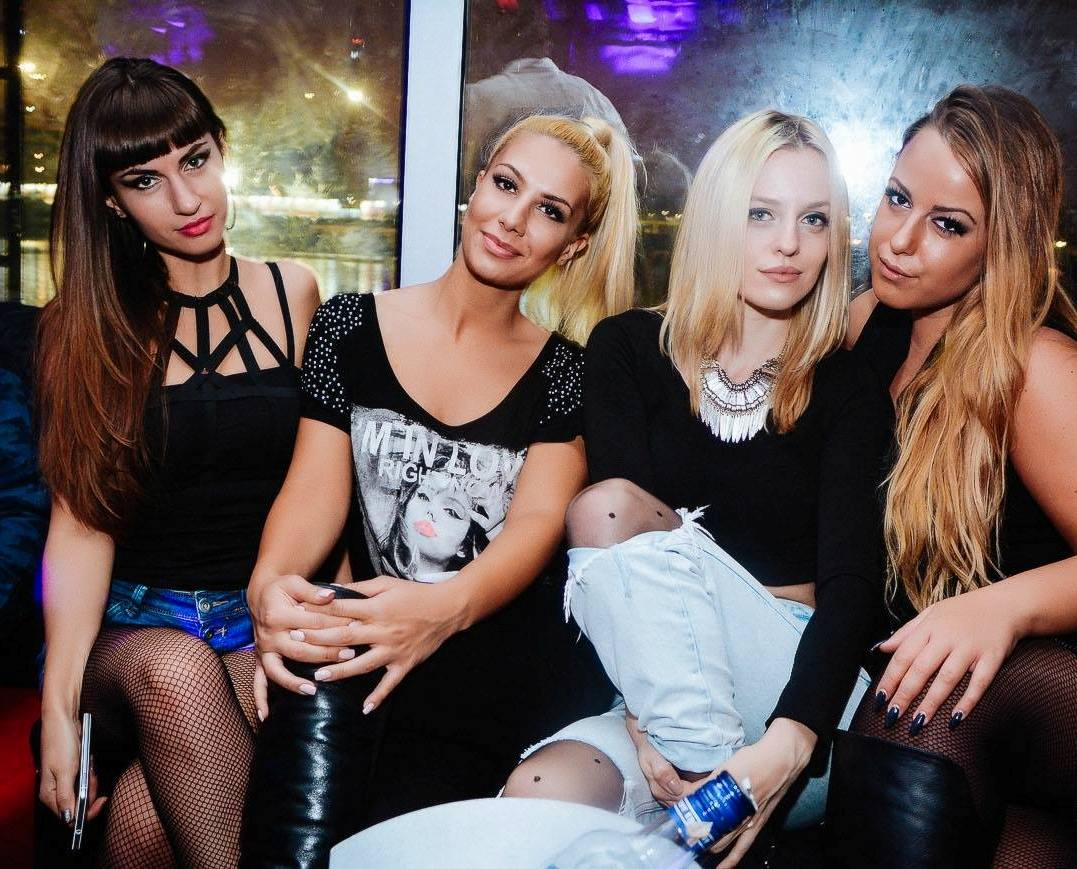 Grand opening of famous summer club 94 - Belgrade at night