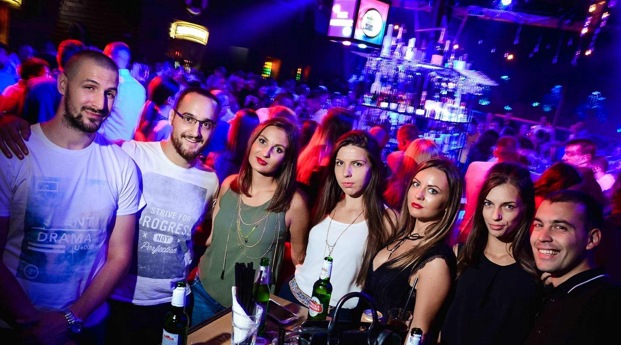 Season 2017 opening for club Shake'n'Shake - Belgrade at night