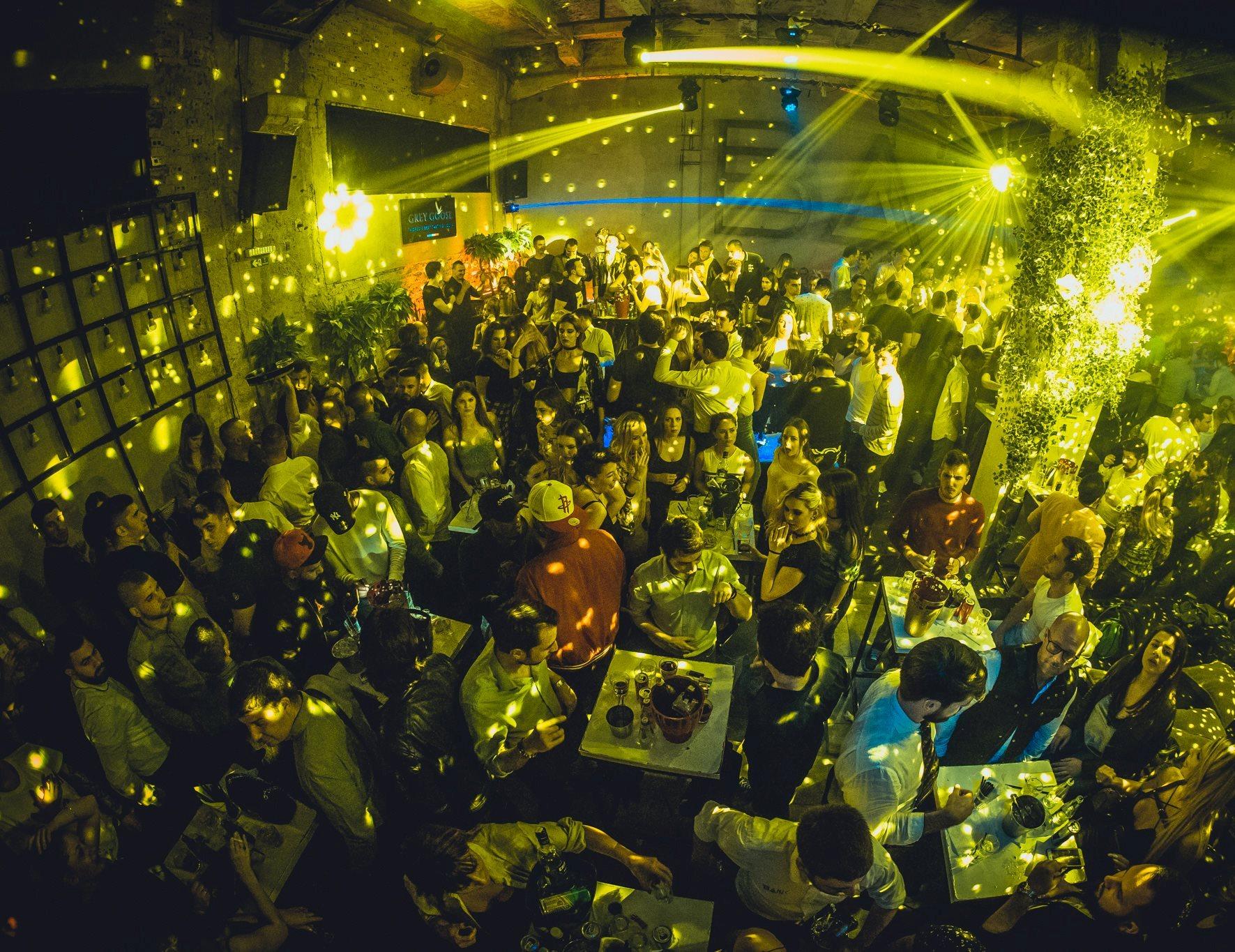 Season closing weekend for the Bank - Belgrade at night