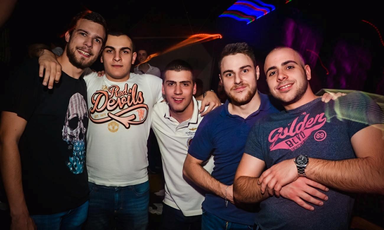 Season finale for the Tilt club - Belgrade at night
