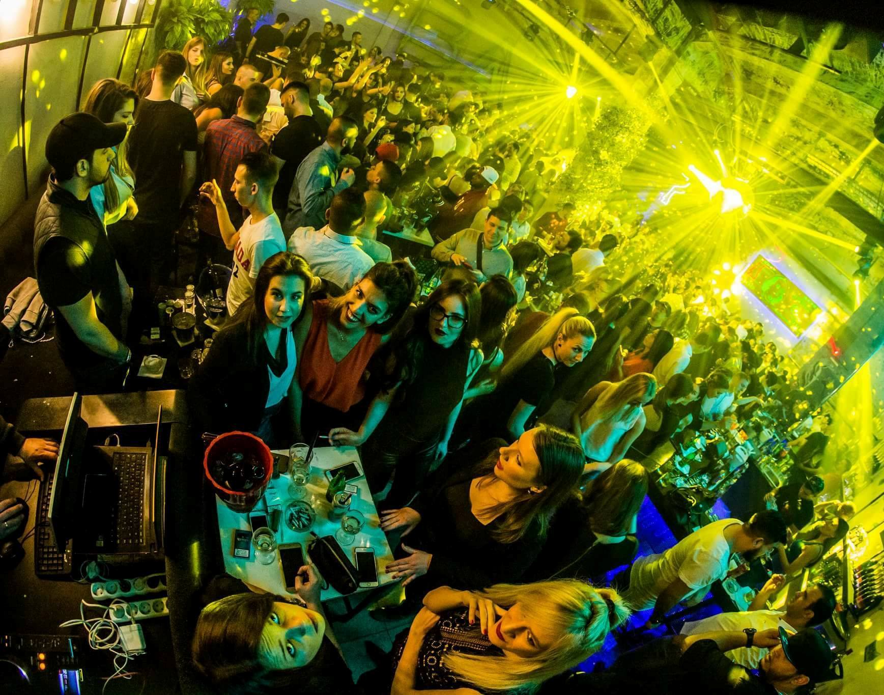 The World's Finest Clubs presents: the Bank club - Belgrade at night