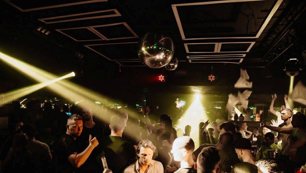 The best retro parties at club Square - Belgrade at night