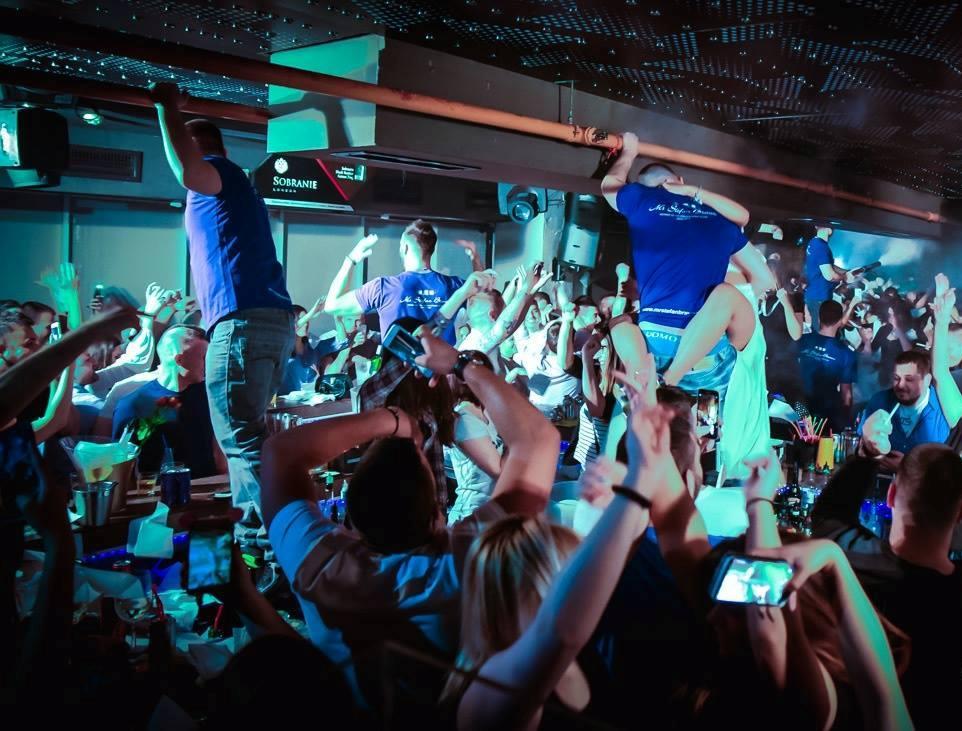 Wednesdays at club Mr. Stefan Braun - Belgrade at night