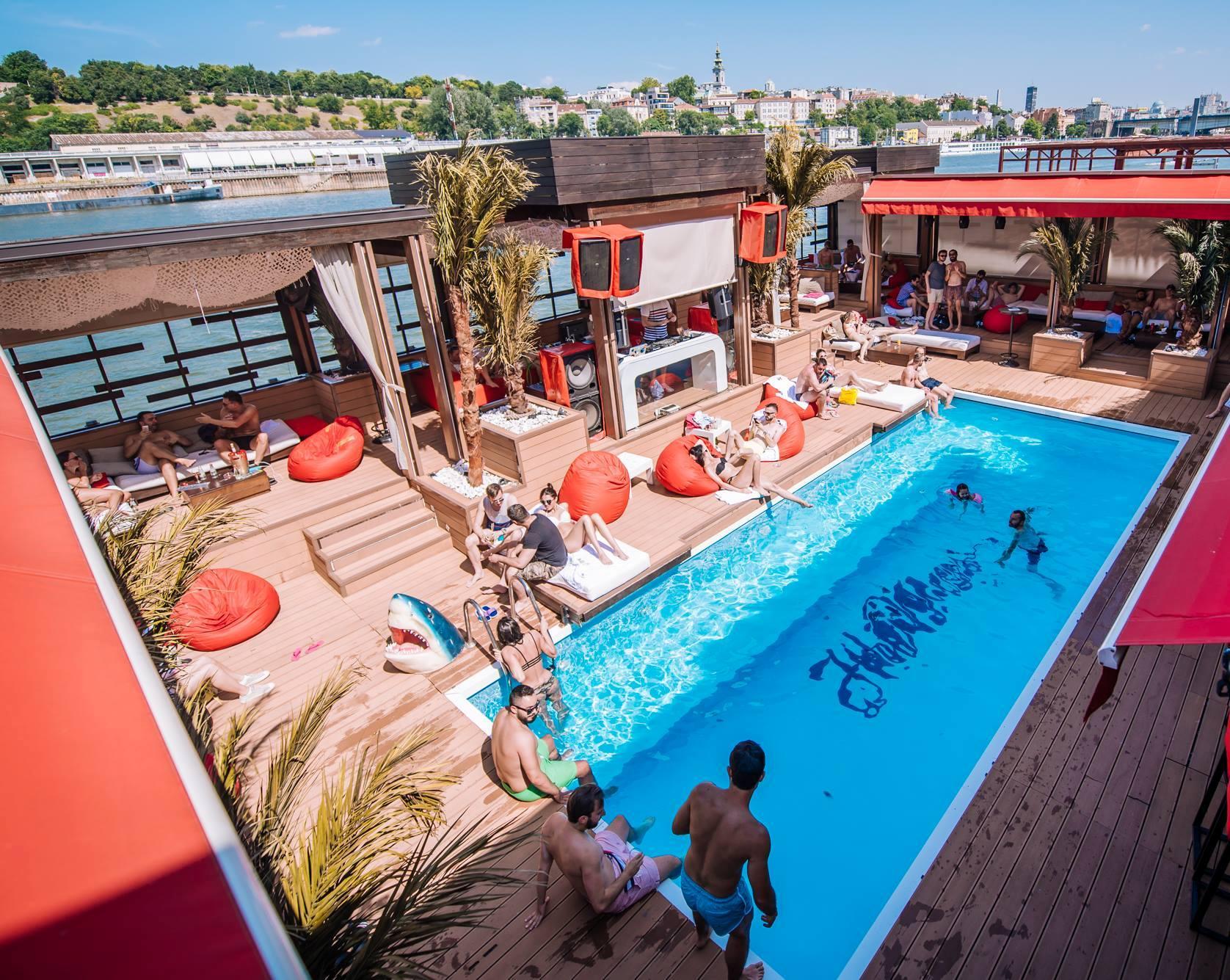 All night and day at club Hot Mess   Belgrade at night