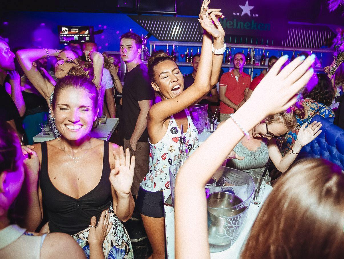All week long at club Ninety Four   Belgrade at night