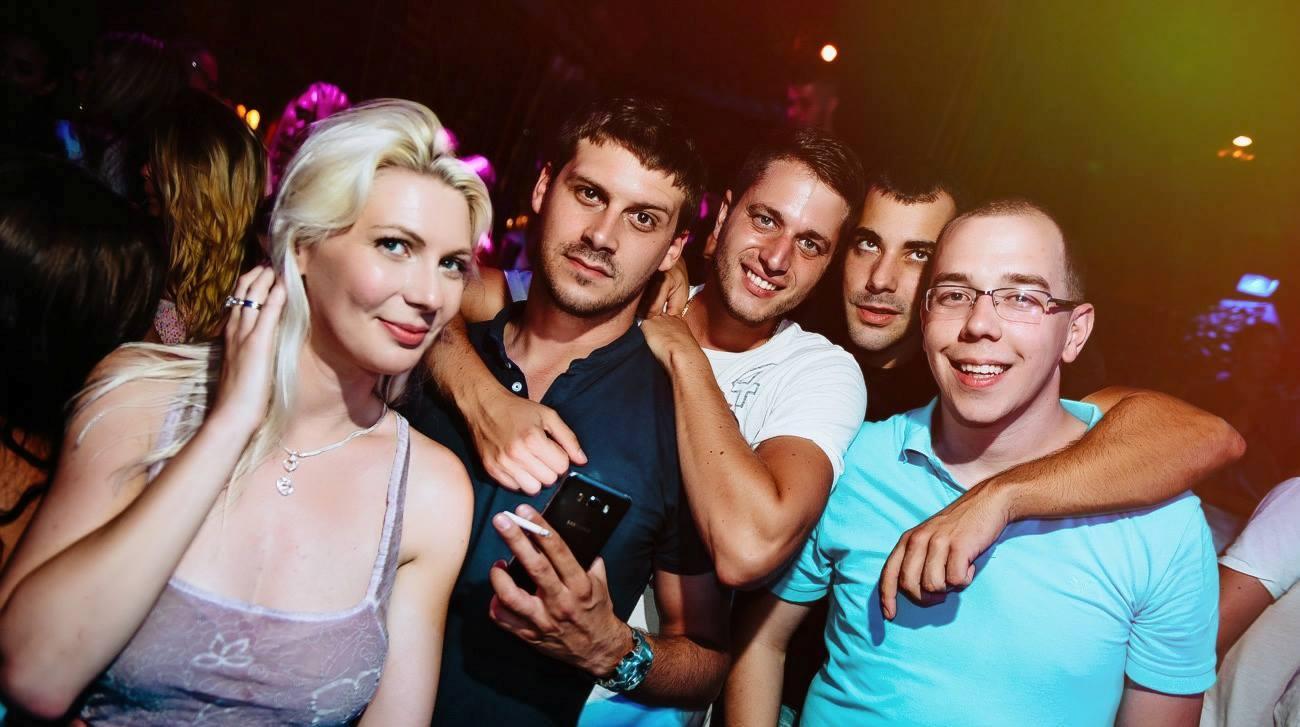 Fridays are golden at club Shake 'n' Shake
