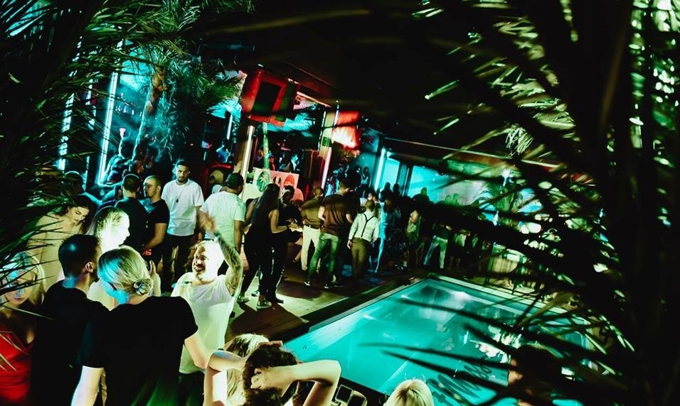 R'n'B party with Dj Moooka - Belgrade at night