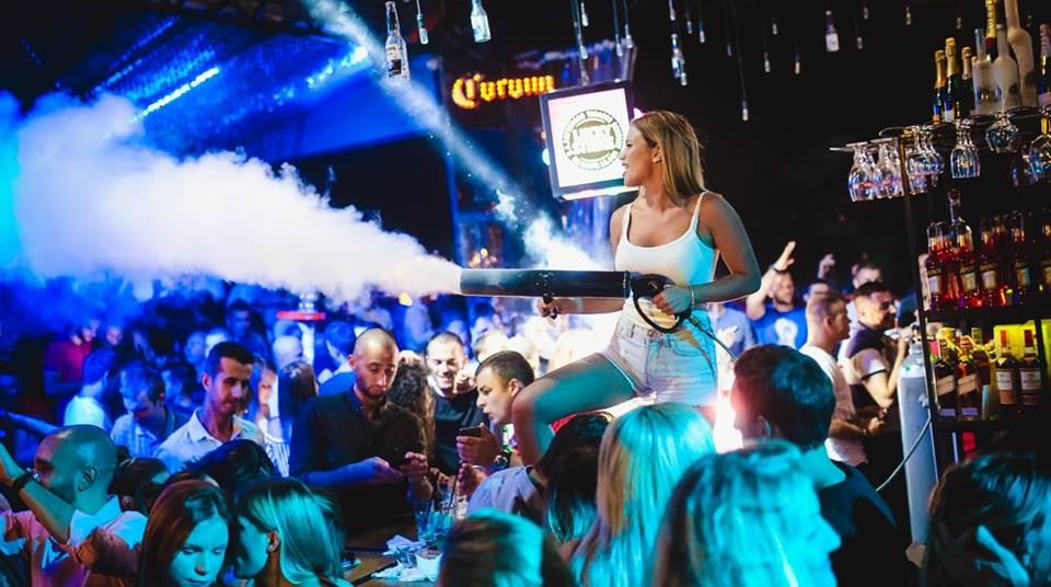 Shake it off - Belgrade at night