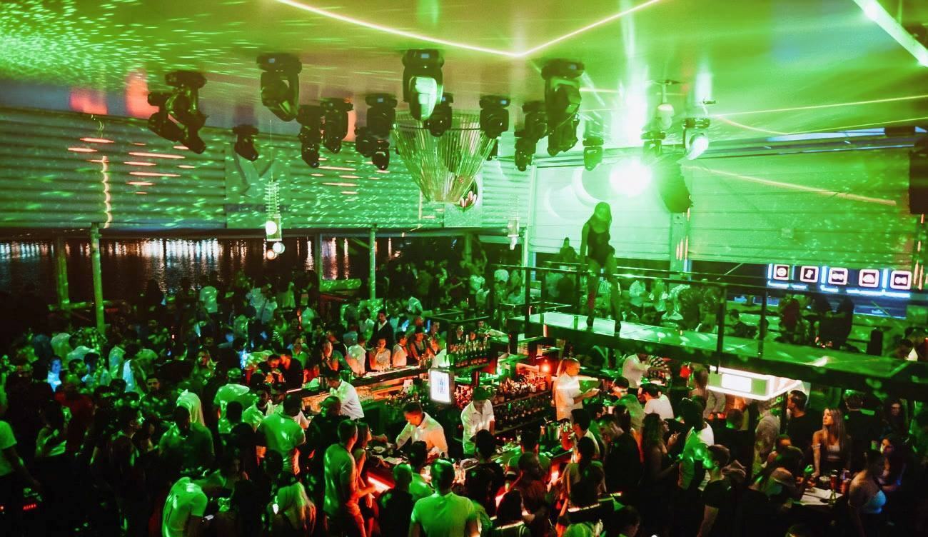 Party every night at popular Belgrade venue
