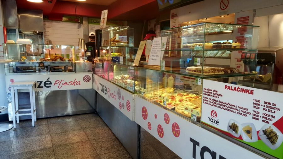 Top 10 fast foods in Belgrade