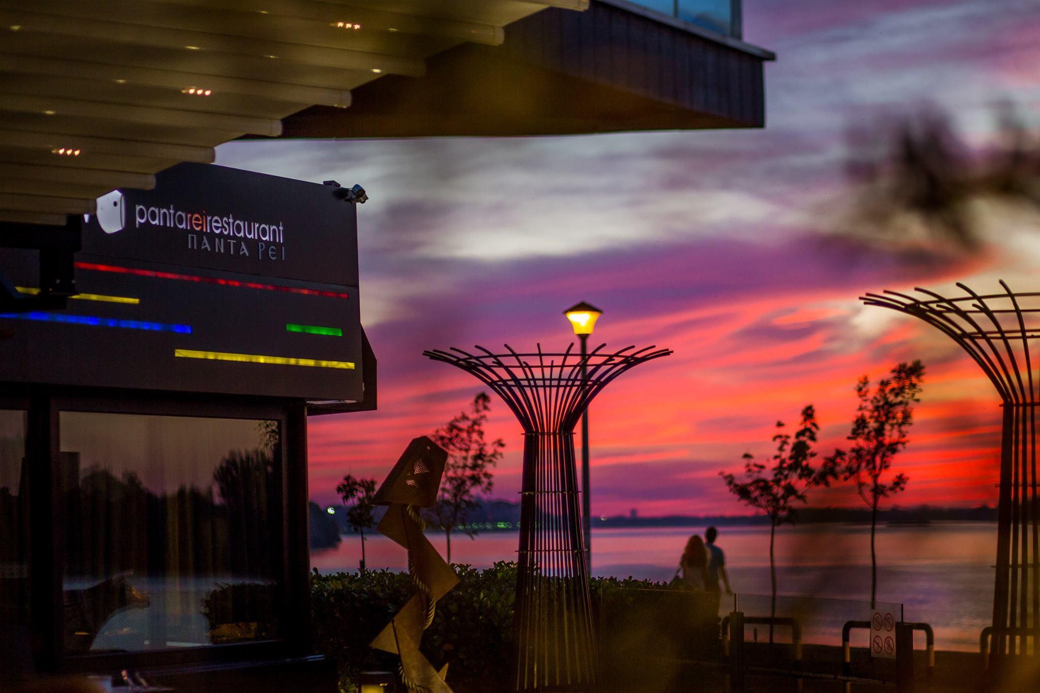 Enjoy a perfect sunset