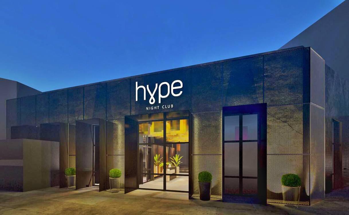 Club Hype   Belgrade at night