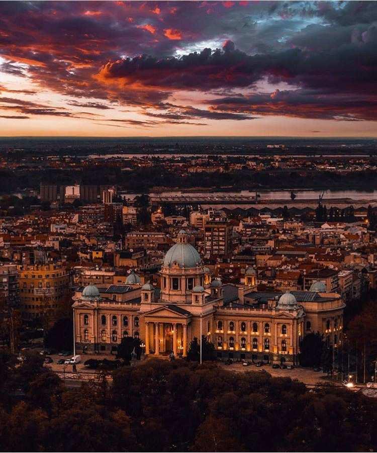 TOP 10 Photos - Belgrade at Night - For 2017