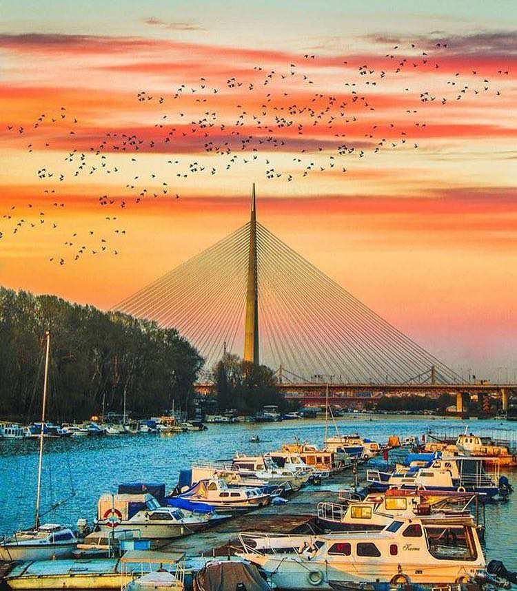 TOP 10 Photos – Belgrade at Night – For 2017 - Belgrade at night
