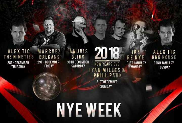 NYE week for The Square Club