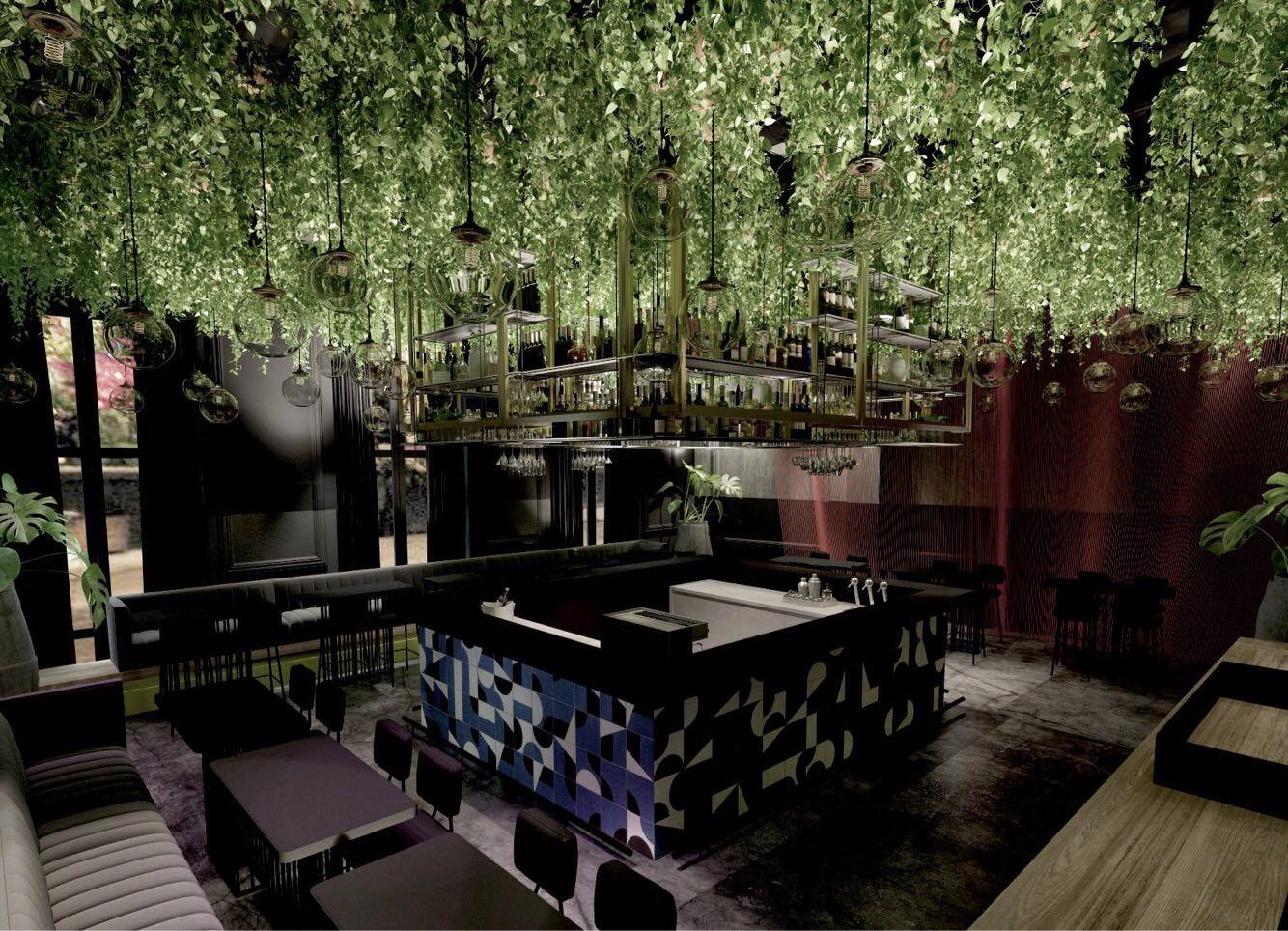 Opening of Martinez club and bar