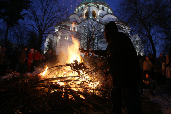 January in Belgrade