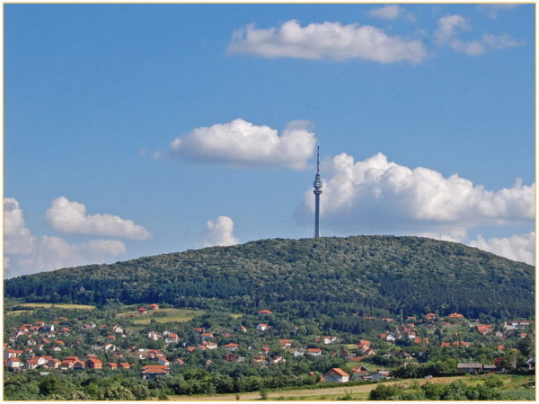 Avala, mountain full of monuments