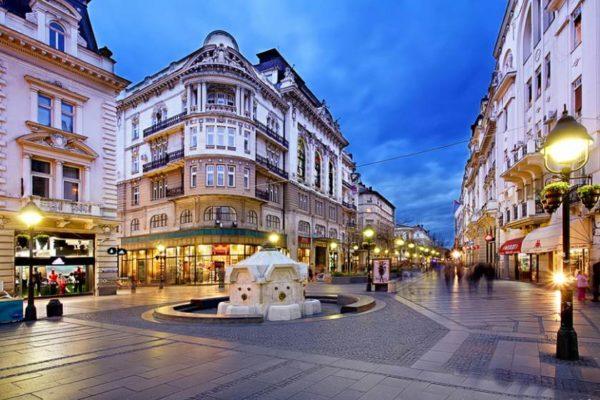 Beautiful summer time in Belgrade