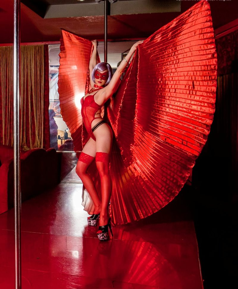 Striptease club Romansa in Belgrade