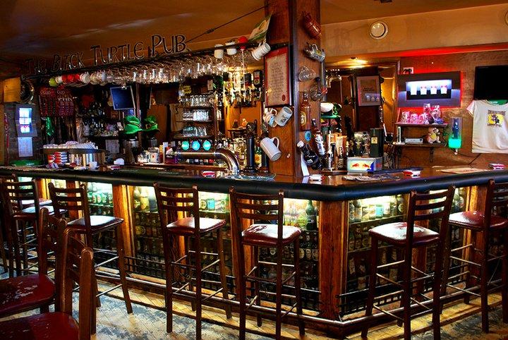 Beer in Belgrade black turtle pub
