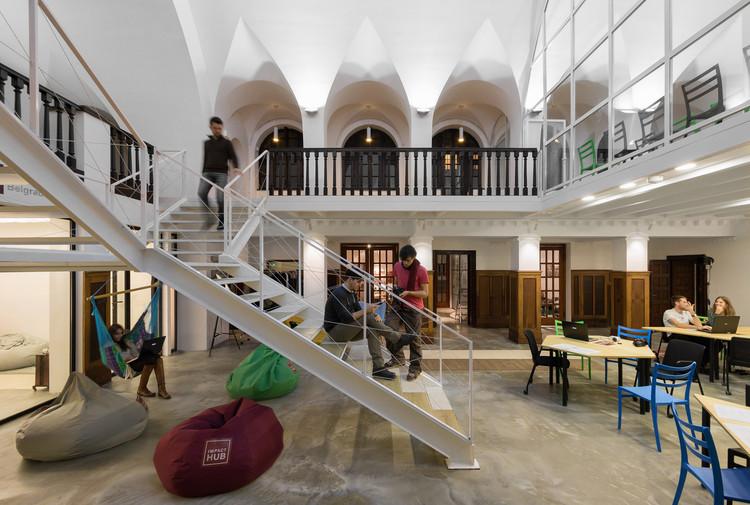 Coworking spaces in Belgrade Impact Hub