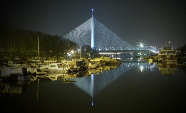 Where to run in Belgrade | Belgrade at night