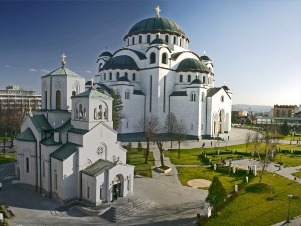Best place for photography in Belgrade Saint Sava Temple