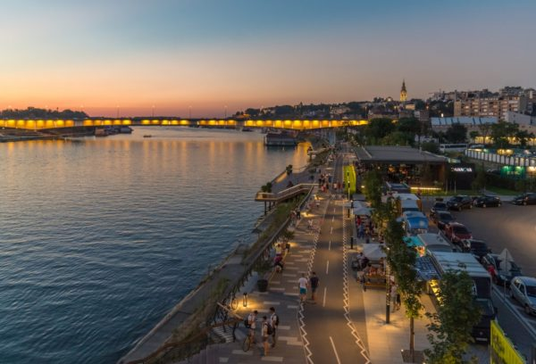 Where to stay in Belgrade - Belgrade at night