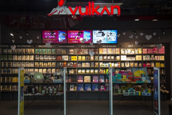 Bookstores in Belgrade Vulkan