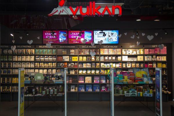 Bookstores in Belgrade Vulkan