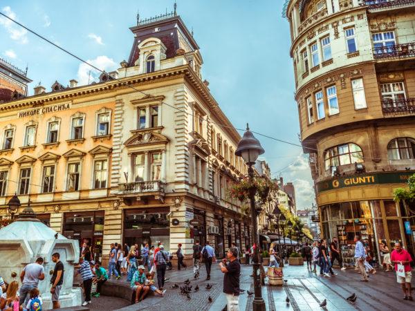 Where to stay in Belgrade - Belgrade at night