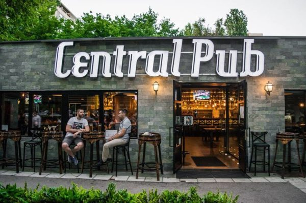 Beer Gardens in Belgrade central pub