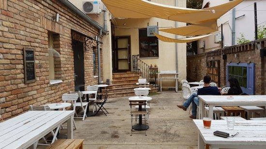 Beer Gardens in Belgrade passengers pub