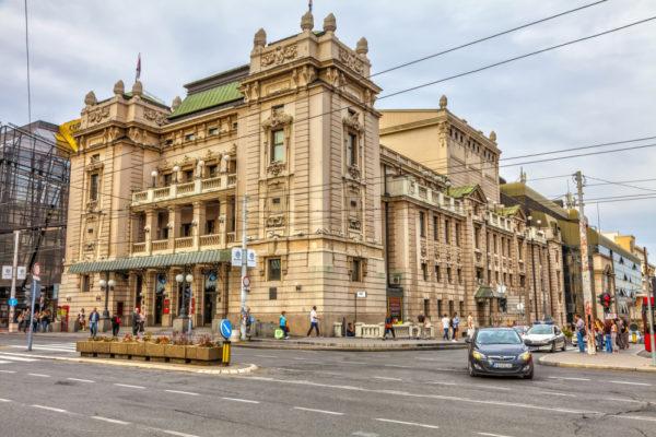 Theaters in Belgrade narodno pozoriste