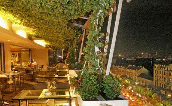 Rooftop bars in Belgrade Caruso