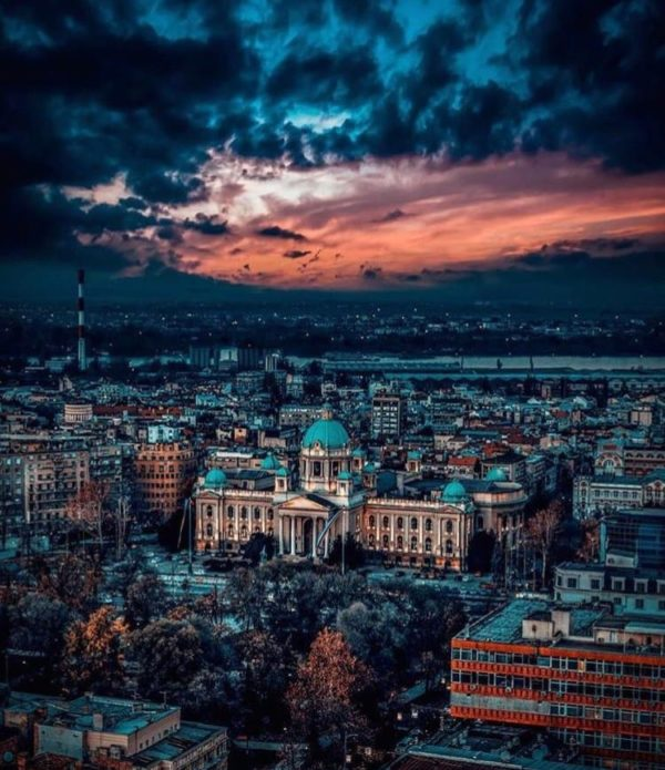 Belgrade in the autumn - Belgrade at night