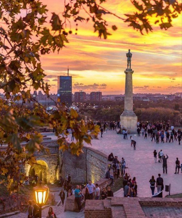 Belgrade in the autumn