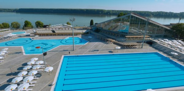 Belgrade swimming pools 25. maj